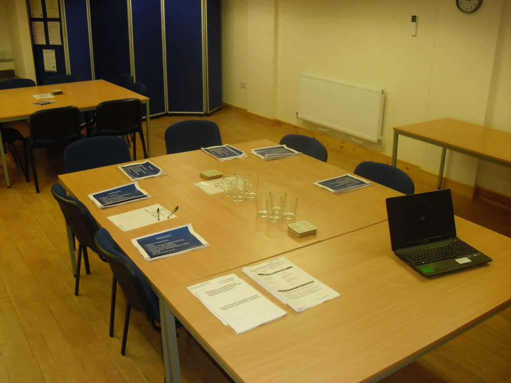 Llanelli Training Room